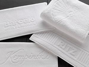 toallas de baño y de hotel